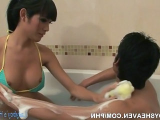 Soapy Thai Ladyboy Sex Massage