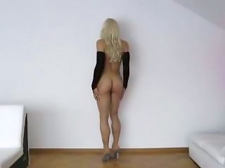 German TV enormously giant dildoing and drink own cum. Must see