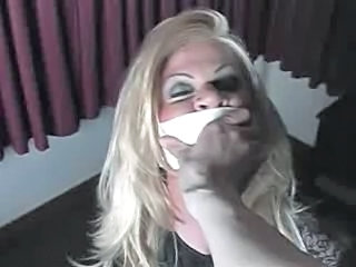 Chair tied Tranny