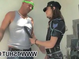 "Tranny in a police uniform gets her ass rammed "" class=""th-mov"