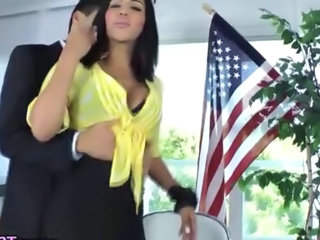 Latina Tranny gets rimmed and sucked off