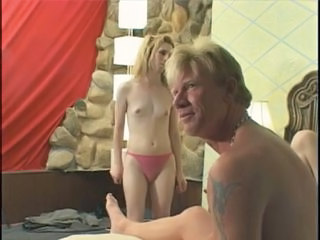Blonde tranny banged hard