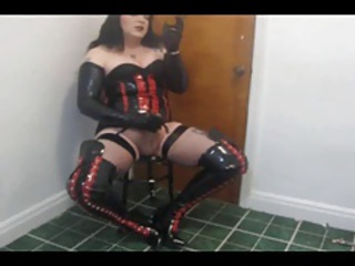 Fetish She-creature Masturbation