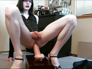 Lianna Taking a Big Dildo