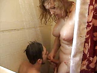 Guys Gets Bareback Fucked & Swallows Non-professional Shemale Cum
