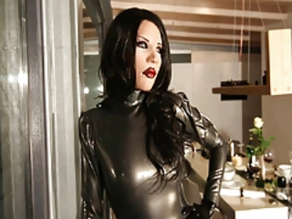 Nice Latex Doll Mia - The Meeting