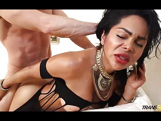 Caroline Brekara fucked hard by lucky boy