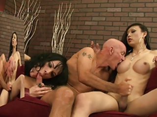Venus Lux and Jordan Jay afterhours 3some fuck