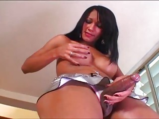 Sexy Busty Big Cock Tranny Very HOTTTT