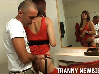 You will love the taste of my big tranny cock
