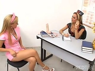Shemale nurse anal treatment very hot