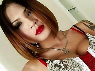 asian tranny, best lady-boy, feminine ladyboy, sexy shemale, she has cock