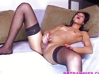 Super cumshot after a good hard anal fucking