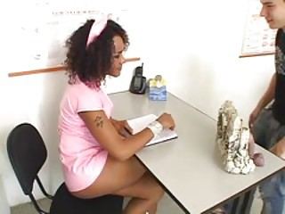 BLACK TEENAGE TRANNY NURSES 3 - Scene 2