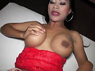 beautiful asian shemale with big cock fuck guy