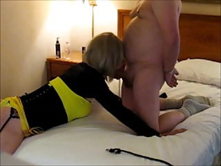 Geri Gets Collared & Used