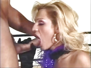 Blonde Shemale and Guy
