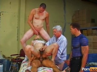 Asian She-Male Gangbang s1